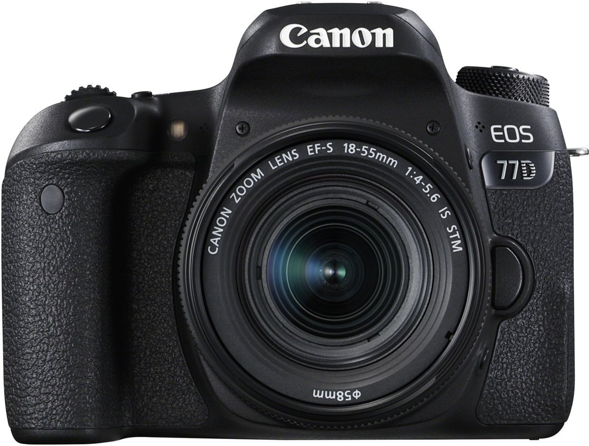 Canon EOS 77D EF-S18-55 F4-5.6 STM