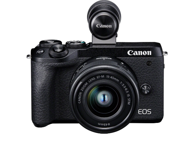 Canon Eos M6 Mark II 15-45 kit Black