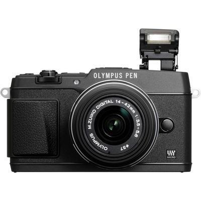 Olympus E-P5 Systeemcamera 16.1 Mpix Zwart incl. M 14-42 mm lens