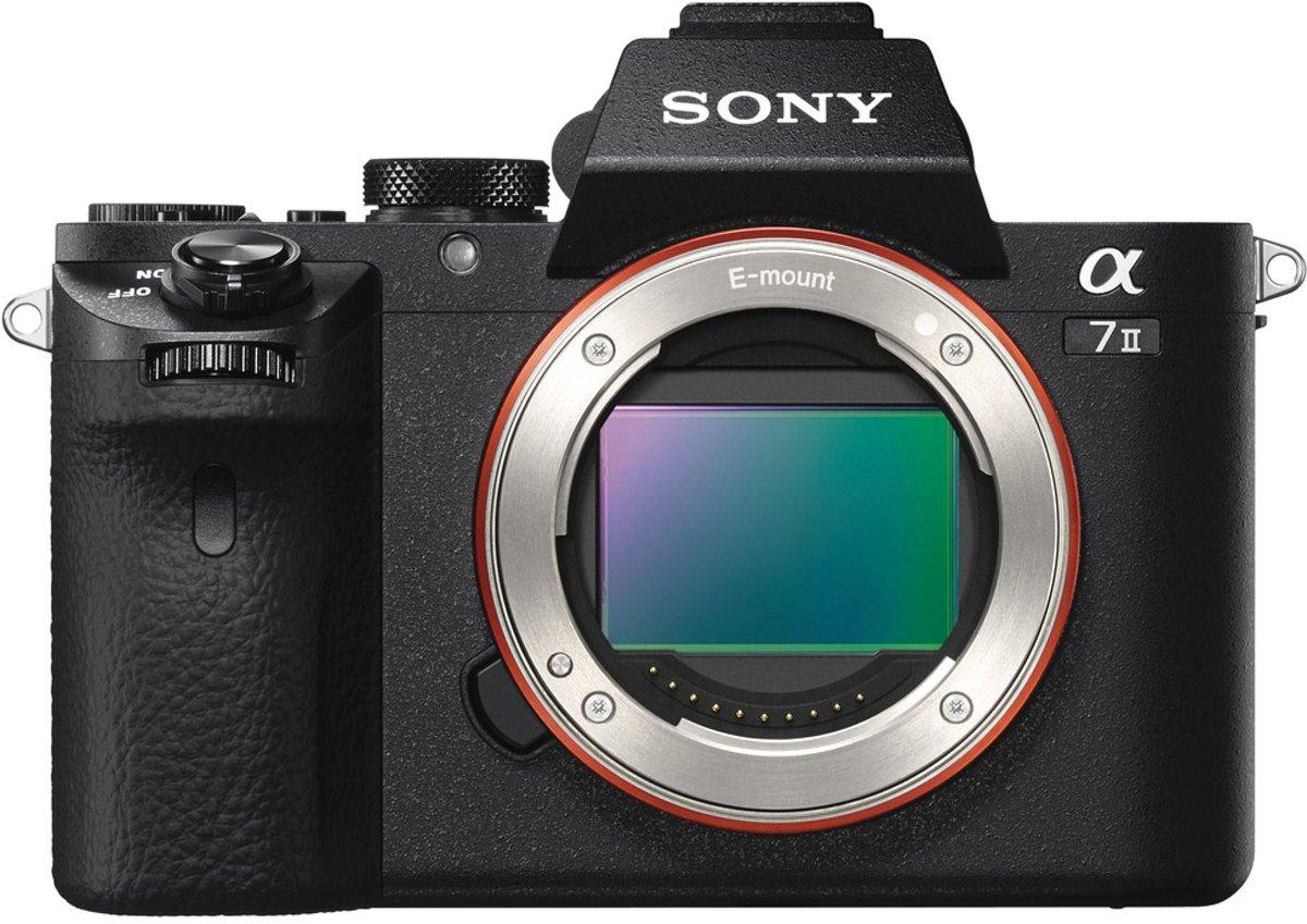 Sony ILCE-7M2 body zwart