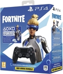 Sony Dual Shock 4 Controller V2 (Black) + Fortnite Neo Versa Bundle