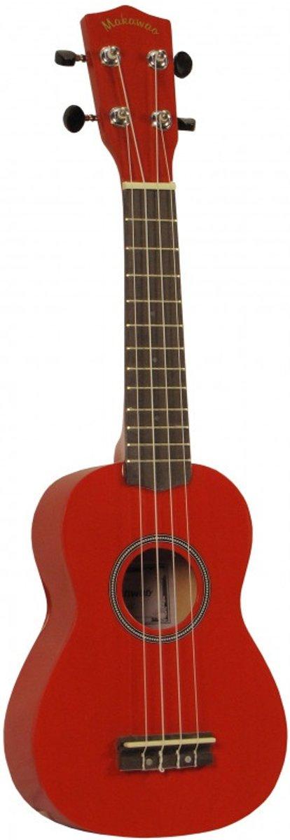 Makawao UK-10RD sopraan ukelele rood