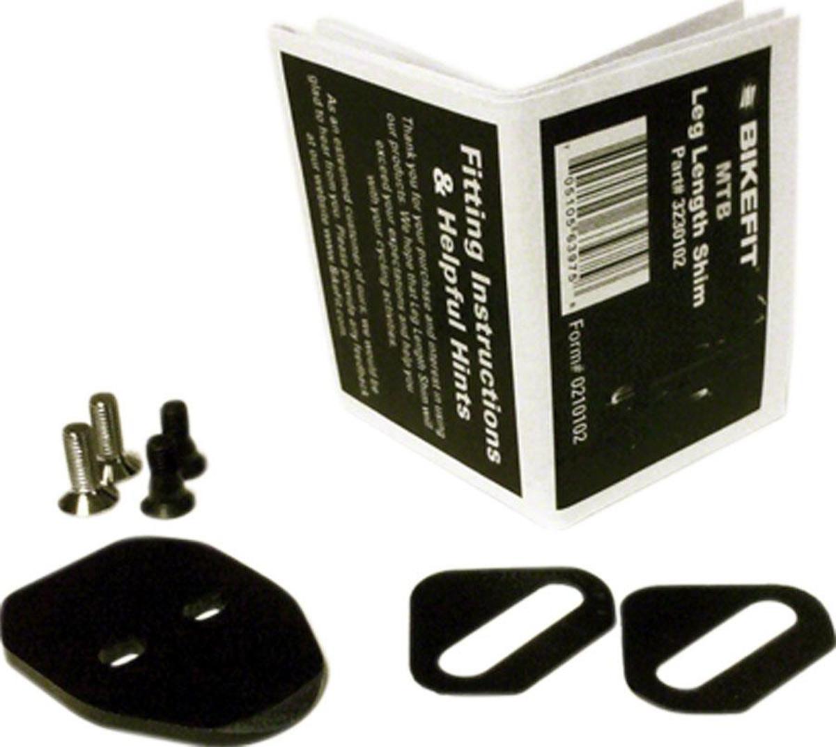 Bikefit 3mm Beenlengte kit SPD 2 gaats (mtb)