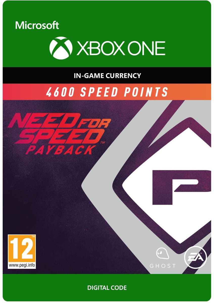 Need for Speed: Payback - 4600 Speed Points - Xbox One
