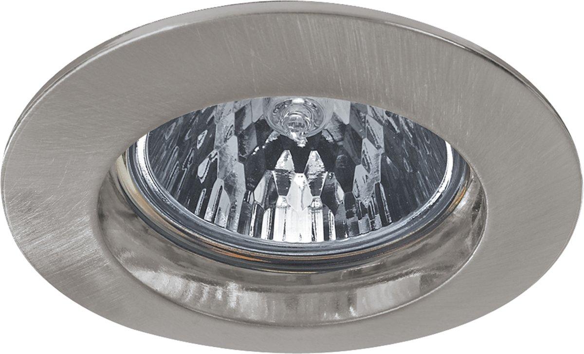 Paulmann Inbouwlamp Premium Line halogeen, 51 mm, ijzer geborsteld Max. 1 x 50 W 17945