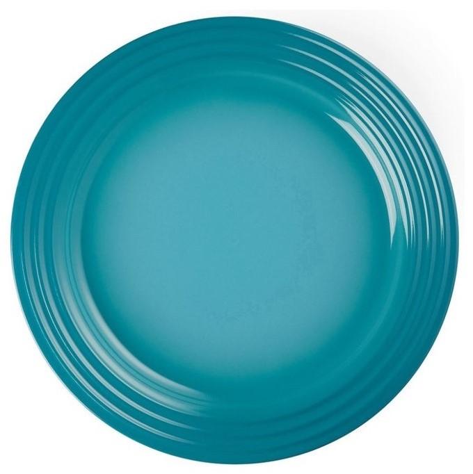 Le Creuset Dinerbord Cara??bisch Blauw ?? 27 cm