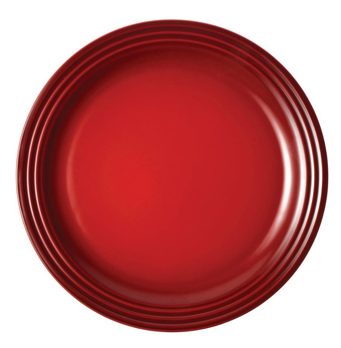 Le Creuset Dinerbord Kersenrood ?? 27 cm