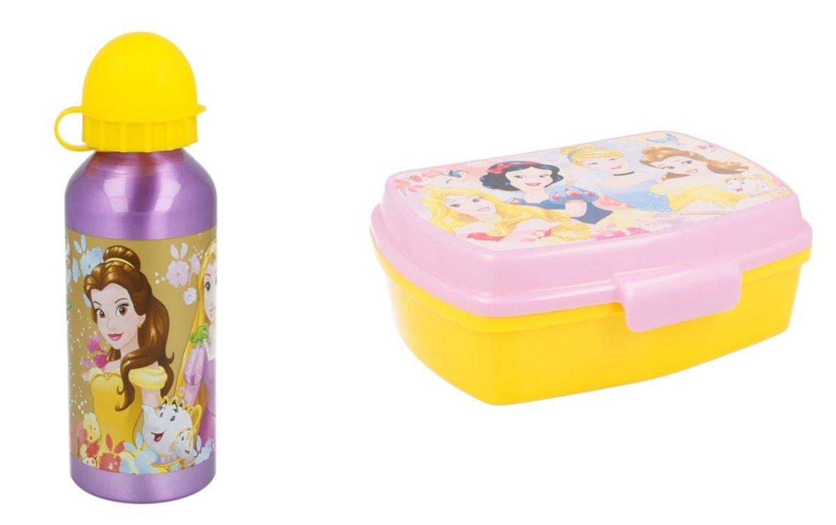 Disney Princess lunchbox / broodtrommel incl. Aluminium drinkbeker van 400ml