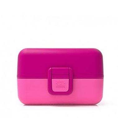 Monbento Bento Kids MB Tresor lunchbox - raspberry