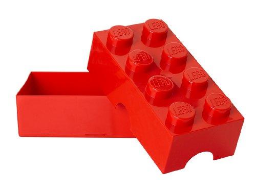 LEGO 4023 Broodtrommel 2x4 steen Rood