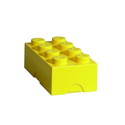 LEGO 4023 Broodtrommel 2x4 steen geel