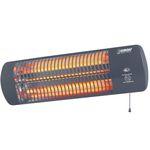 Eurom Elektrische terrasverwarmer Q-time 1500 1500 W donkergrijs 334180
