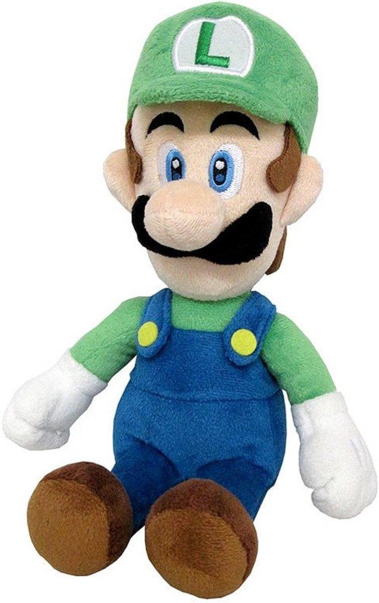 Super Mario: Luigi Plush, 24 cm