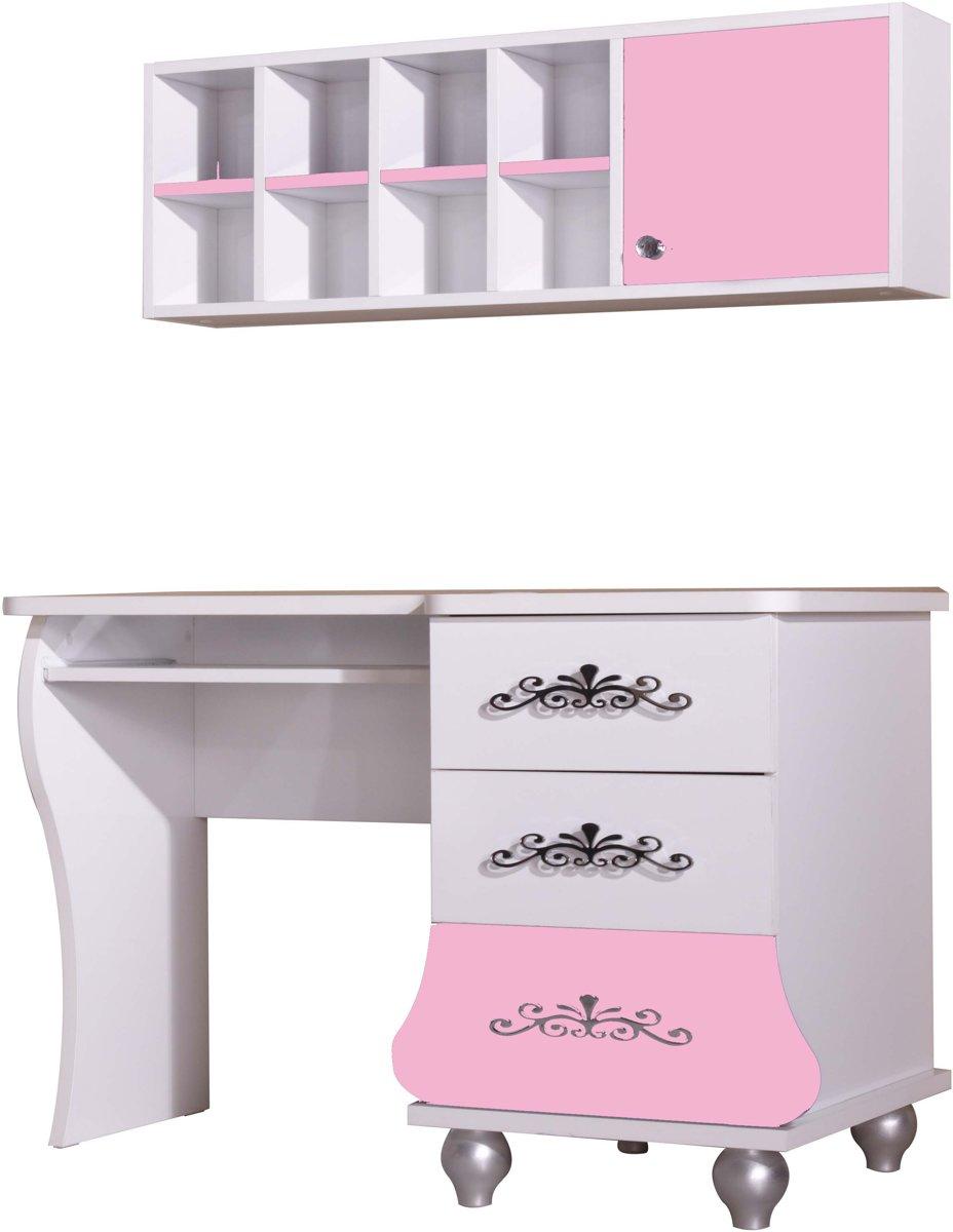 By MM Prinses - Bureau - 123 cm - Roze