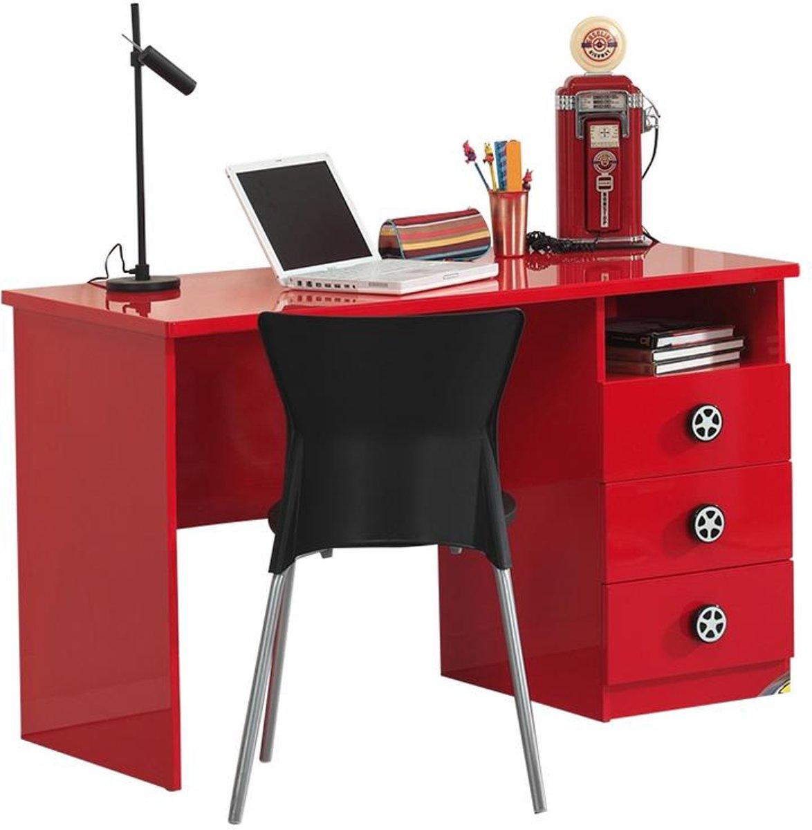 Vipack Bureau Monza rood