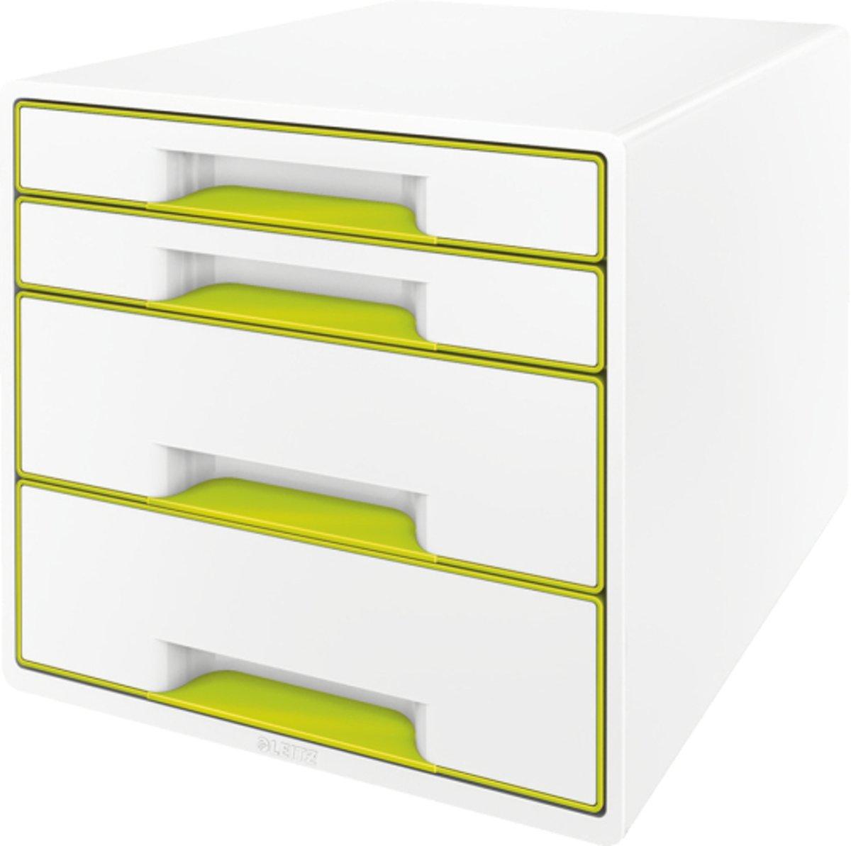 HAN Ladebox IMPULS 2.0 1013-56 Wit DIN A4, DIN C4 Aantal lades: 4