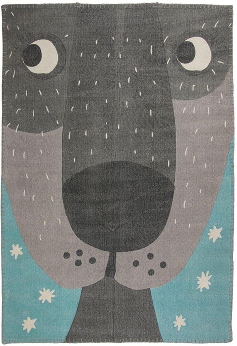 Vloerkleed Kinderkamer & Babykamer Annibal the Dog - Tapijt 100 x 140 cm