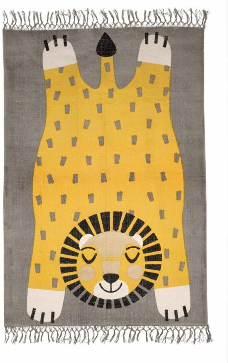 Vloerkleed Kinderkamer & Babykamer Leeuw - Tapijt 110 x 170 cm