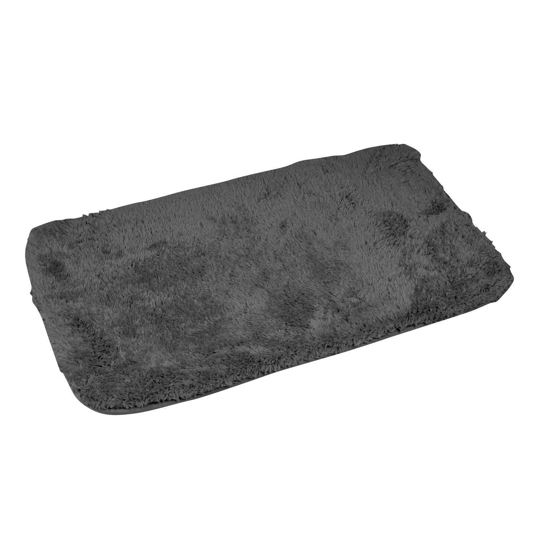 Wicotex Badmat-badmat Badkamer-donker Grijs 50x80cm (Opgerold)