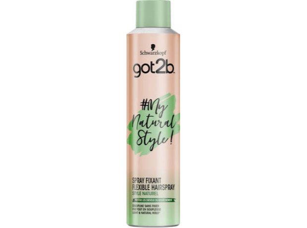 Schwarzkopf Got2b My Natural Style Flexibele Hairspray