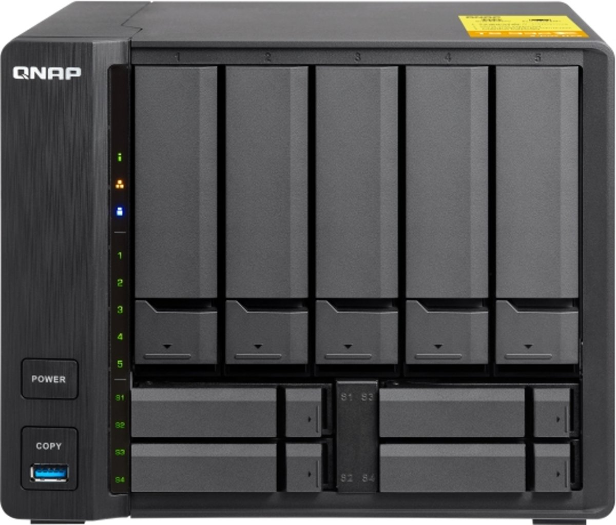 QNAP TS-453BT3-8G NAS-serverbehuizing 4 Bay Multimedia afstandsbediening, 2x M.2 slot