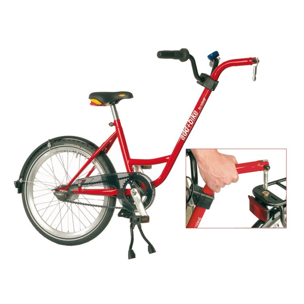 Roland Aanhangfiets Add+Bike 20 Inch Junior Rood