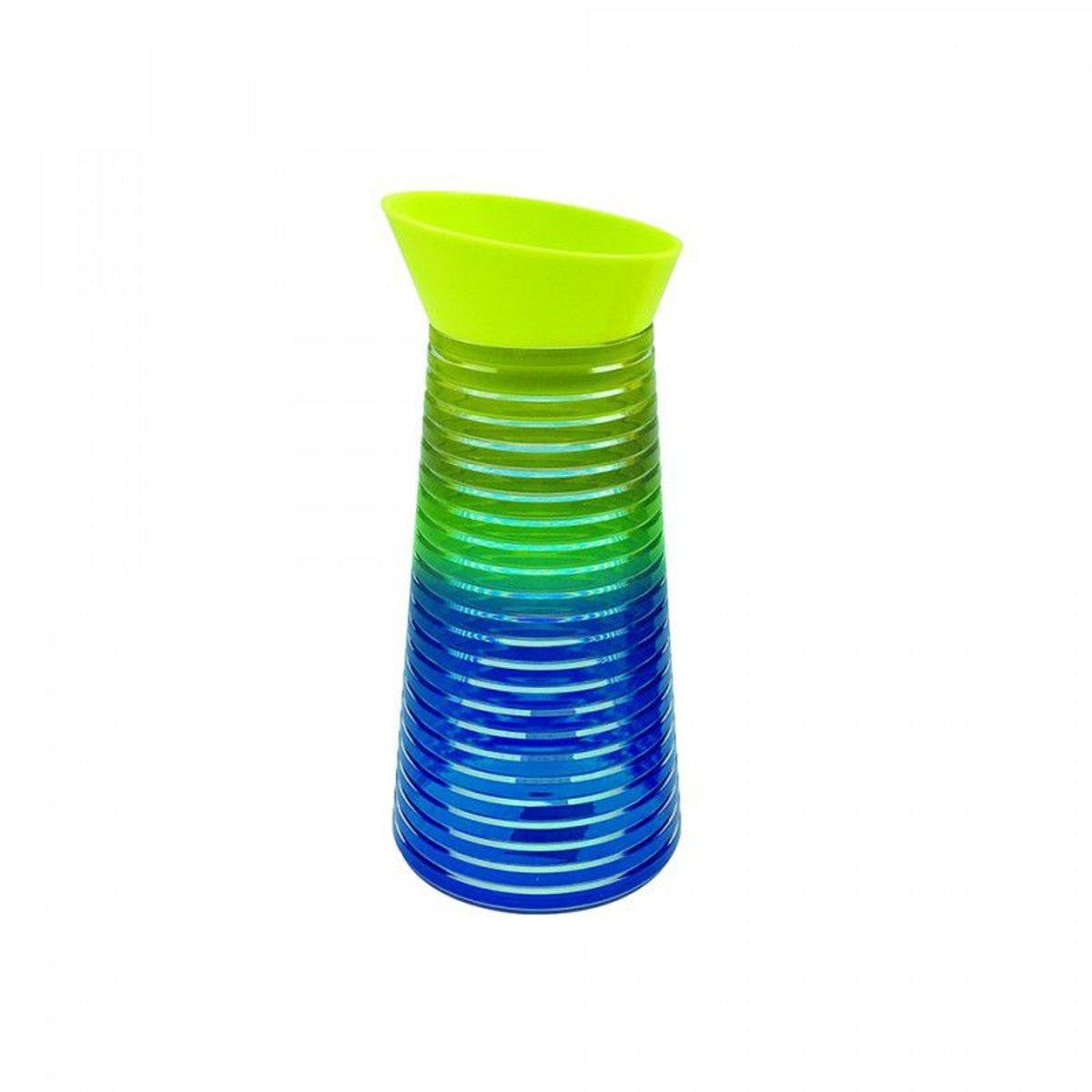 Zak!Designs Swirl - Waterkaraf - 1 liter - Regenboog Koud