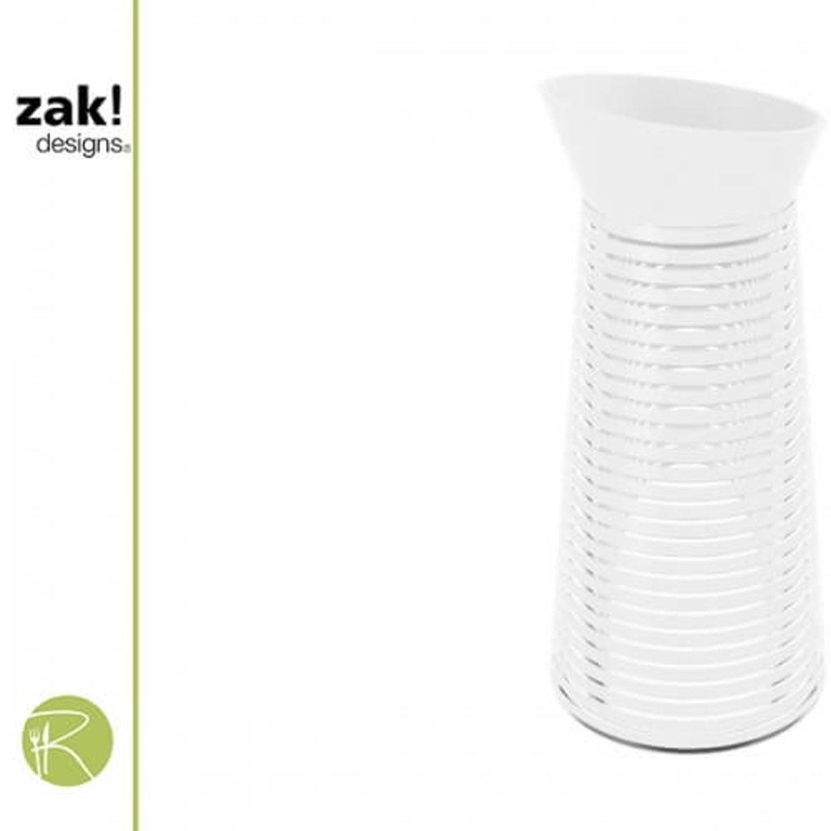 Zak!Designs Swirl - Waterkaraf - 1 liter - Wit