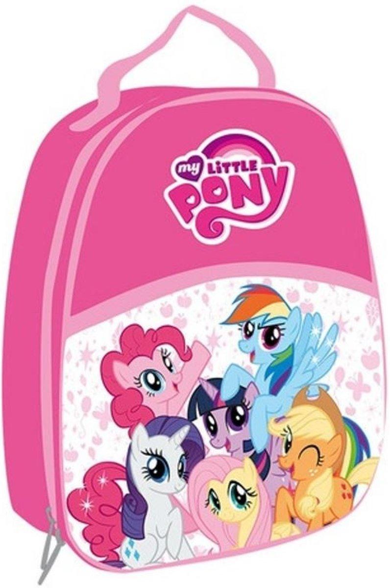 Disney My Little Pony Kinder koelrugzak 3D roze 25 x 21 cm