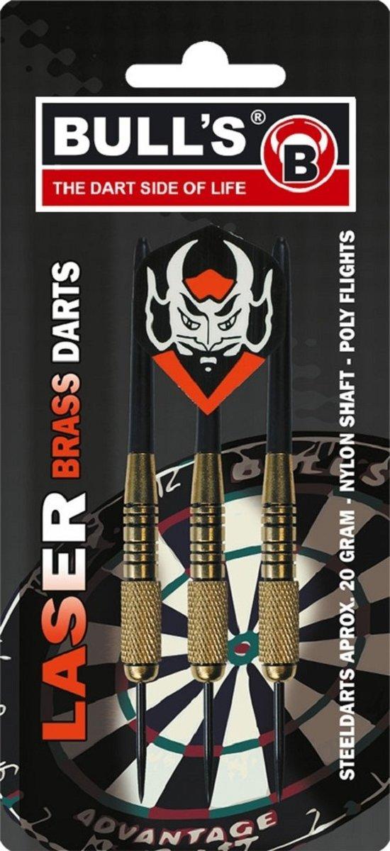 Bull's Laser steeltip goud/zwart 22 gram