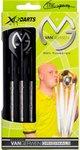 XQ Max dartpijlen steeltip M. van Gerwen 21 gram 90% tungsten