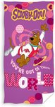 Scooby-Doo Badlaken World Roze 70 X 140 cm