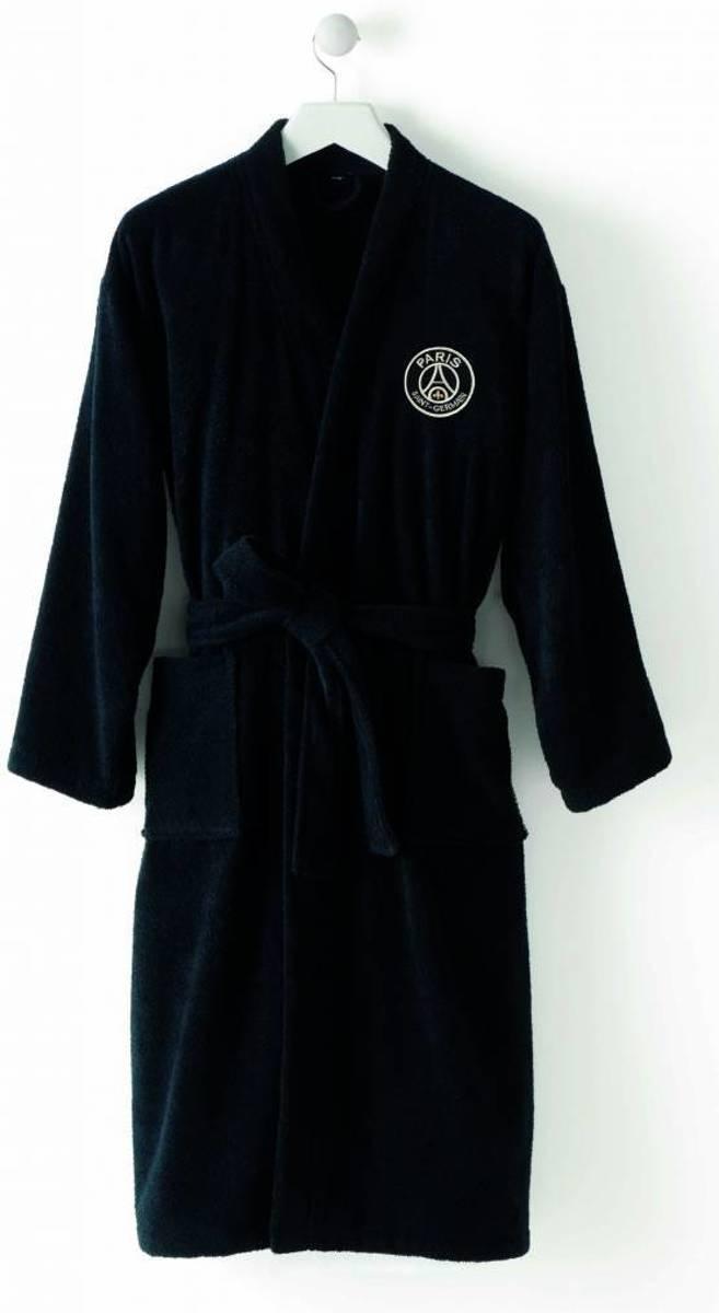 Paris Saint Germain Black - Badjas - XXL - Zwart