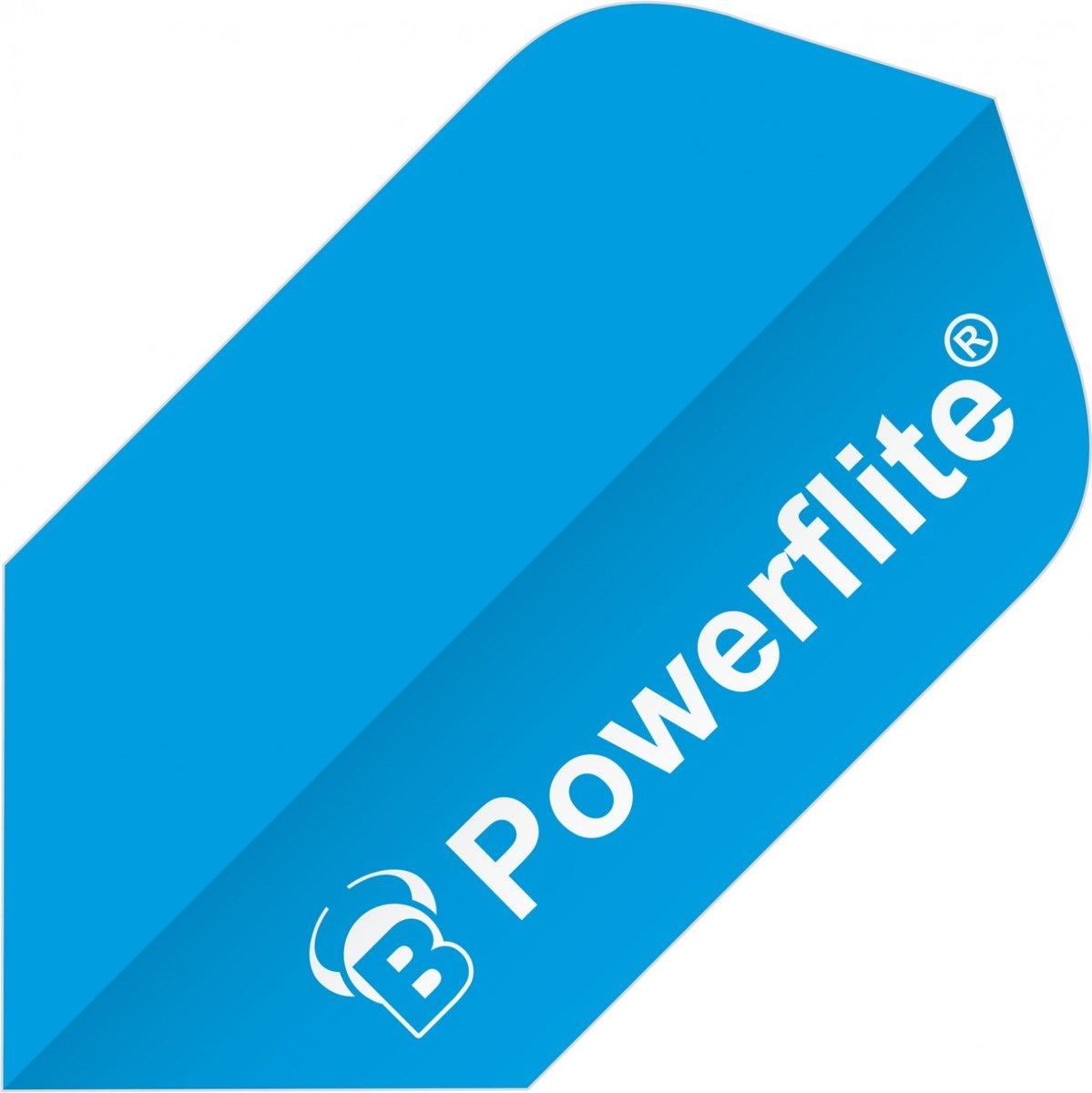 Bull?s Flights Powerflite Slim 100 Micron Blauw