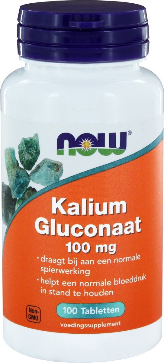 Kalium Gluconaat (potassium gluconate) - 100 tabletten