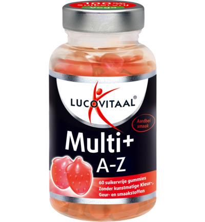Lucovitaal Multi+ A-z (60st)