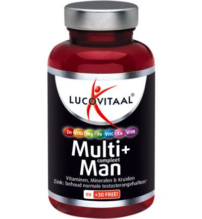 Lucovitaal Multi+ Compleet Man (120tb)
