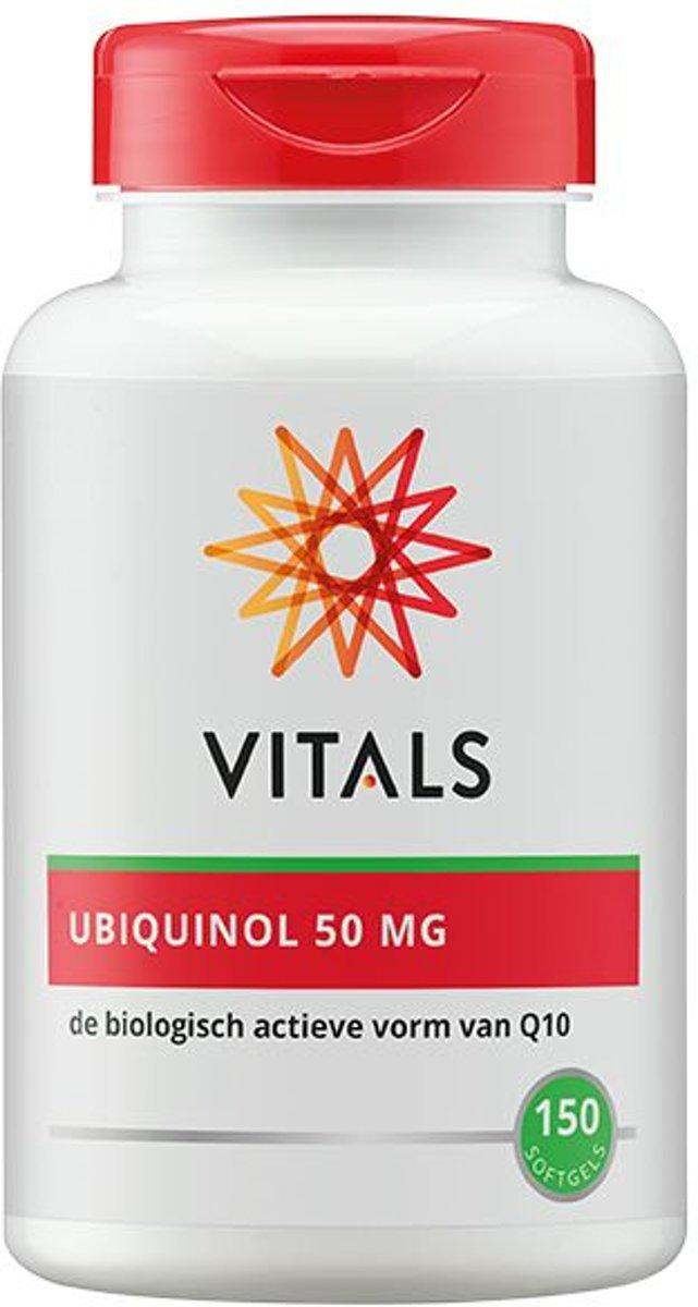 Vitals Ubiquinol 50mg 150caps