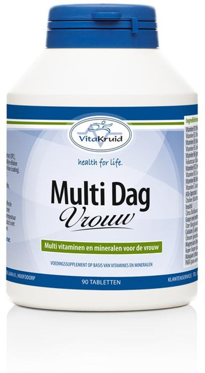 Vitakruid Multi Dag Vrouw 90tabl