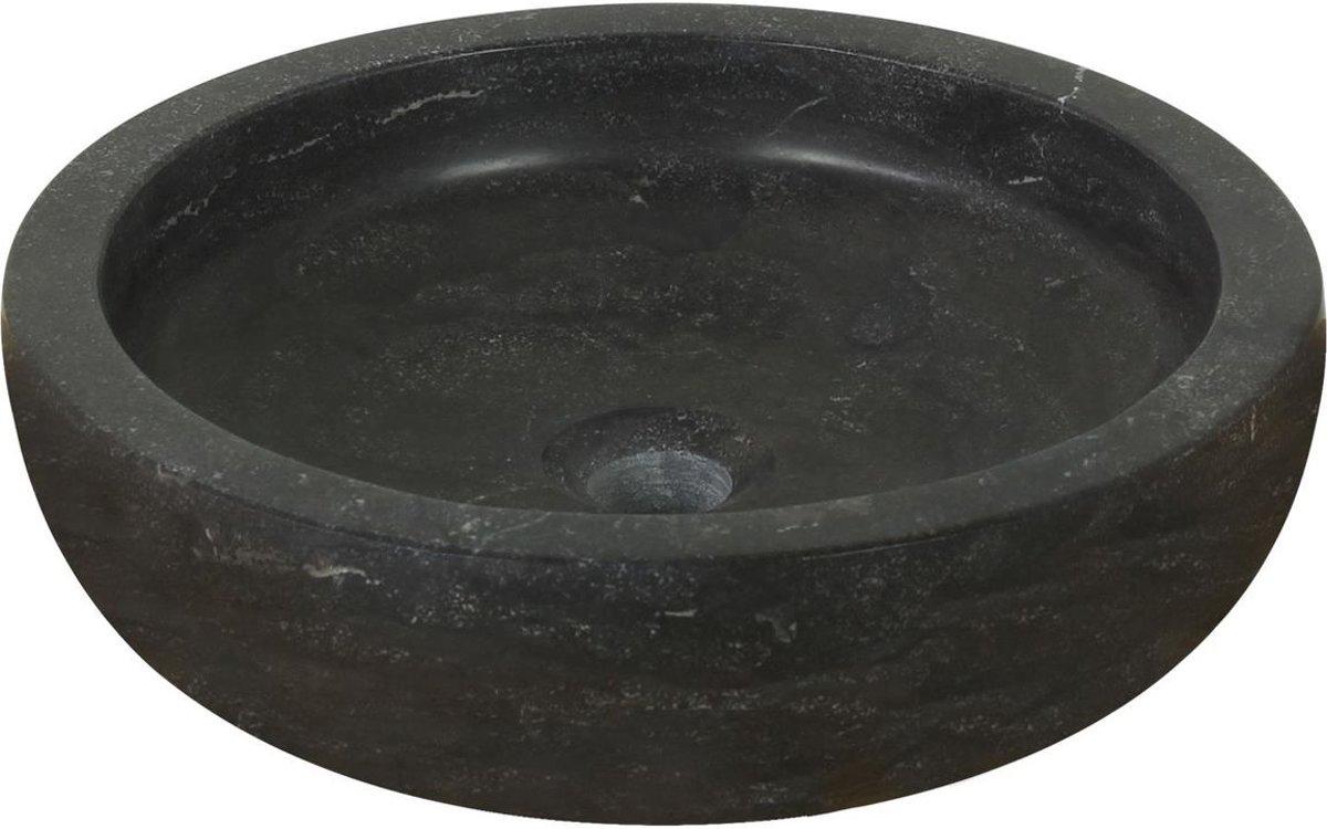 Natuursteen waskom BE-011  40x15cm