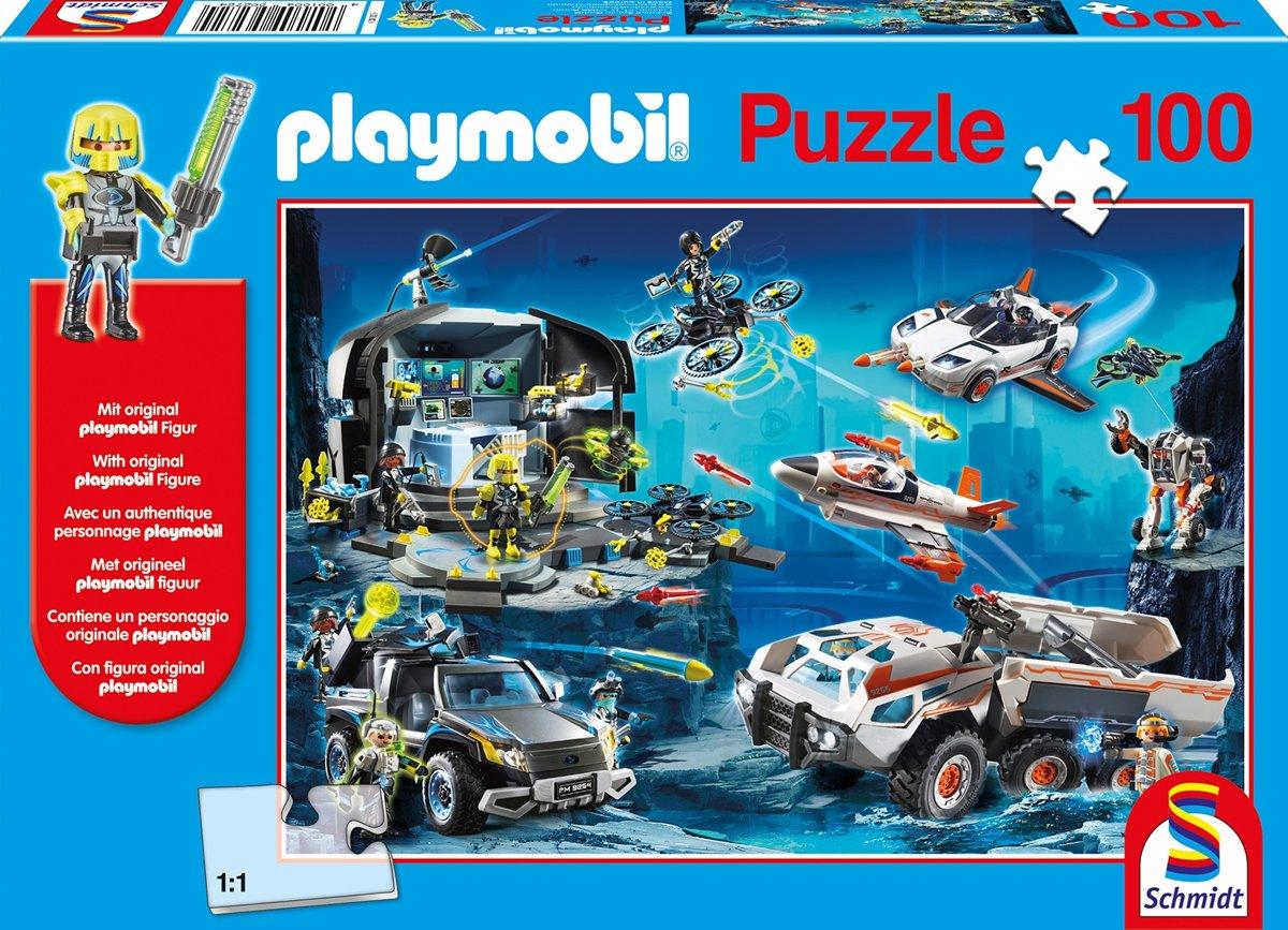 Playmobil, Top Agents, 100 stukjes Puzzel