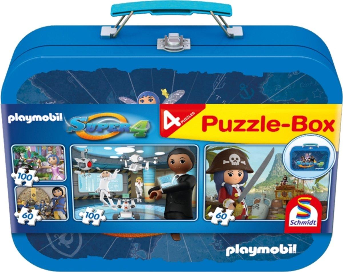 Schmidt Puzzel 4 in 1 Playmobil 56511