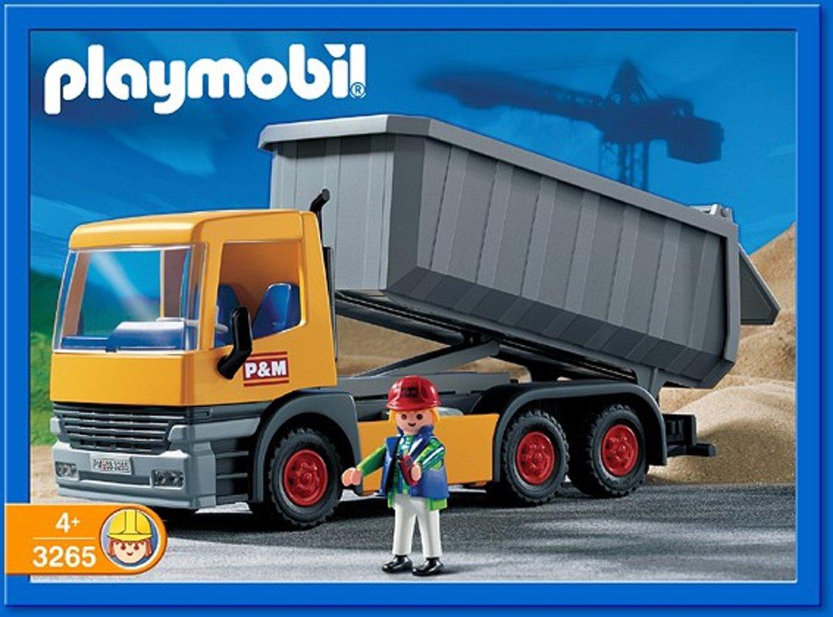 Playmobil Bouwwerf Kieptruck - 3265