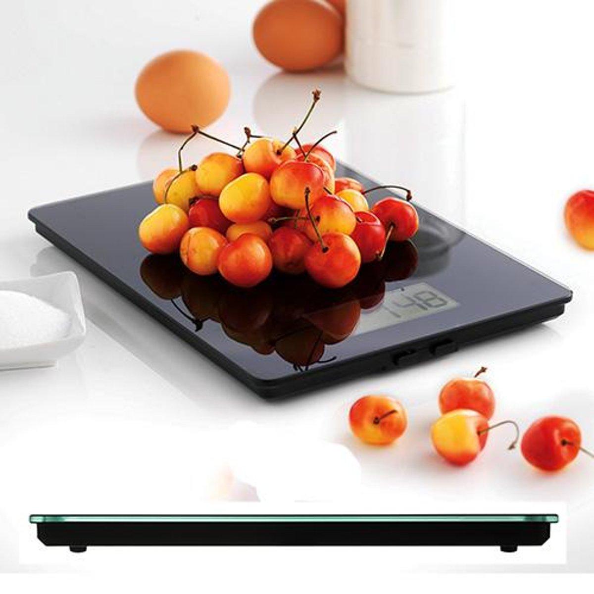 Elektronische keukenweegschaal, zwart - Mastrad