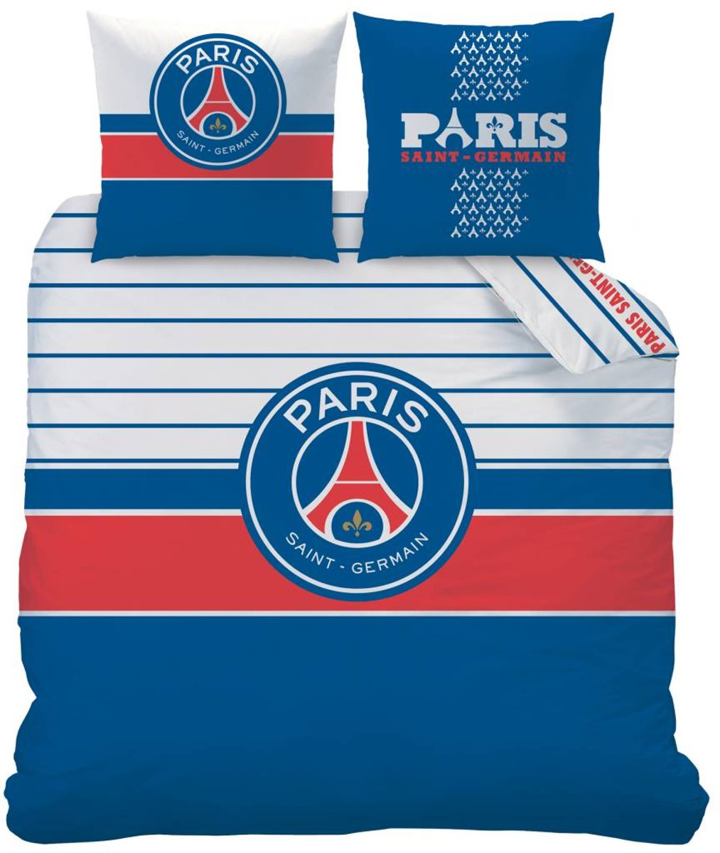 Paris Saint Germain Logo - Dekbedovertrek - Lits Jumeaux - 240 x 220 cm - Multi