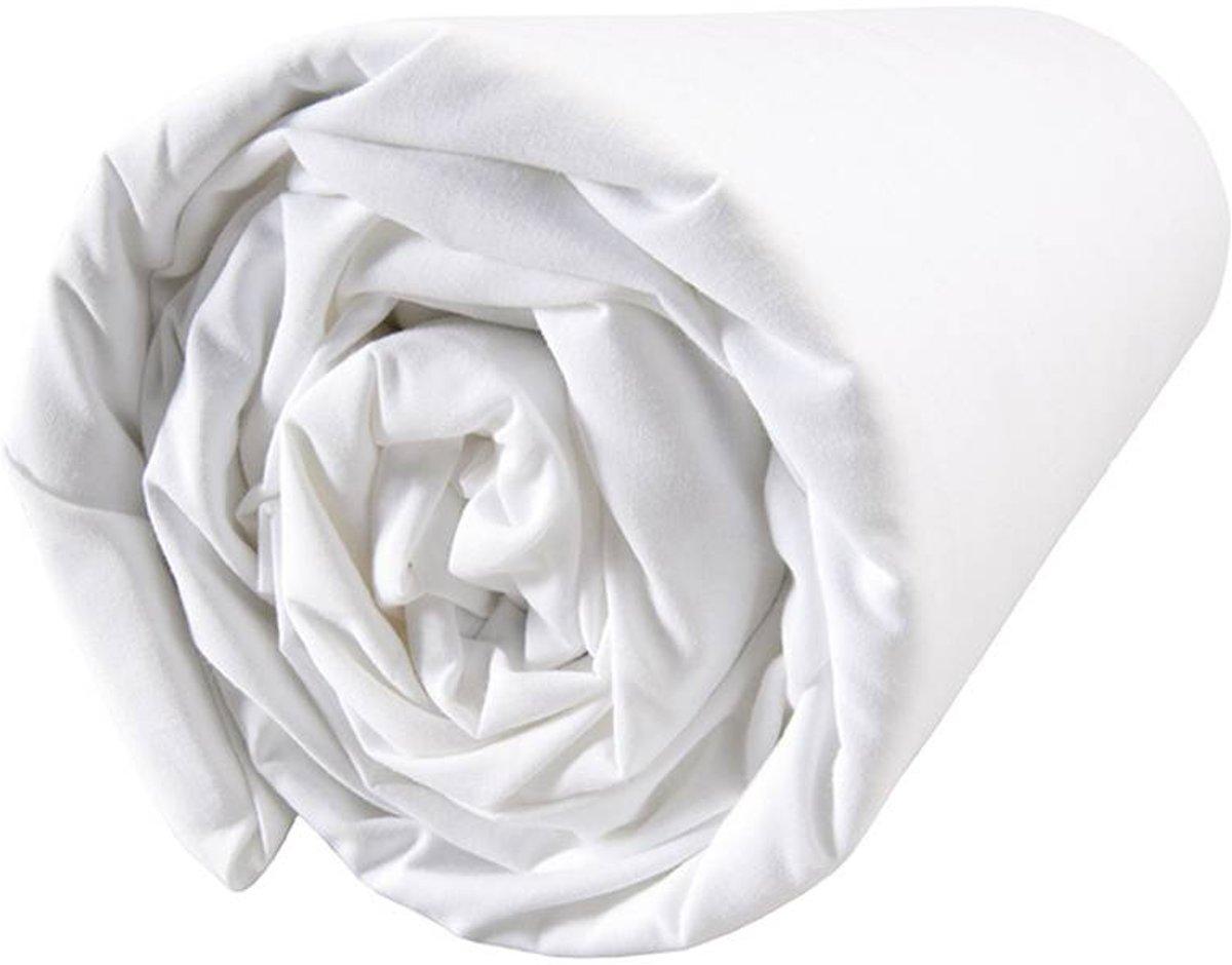 Matt & rose douce nuit - hoeslaken - extra breed - 180 x 200 cm - wit
