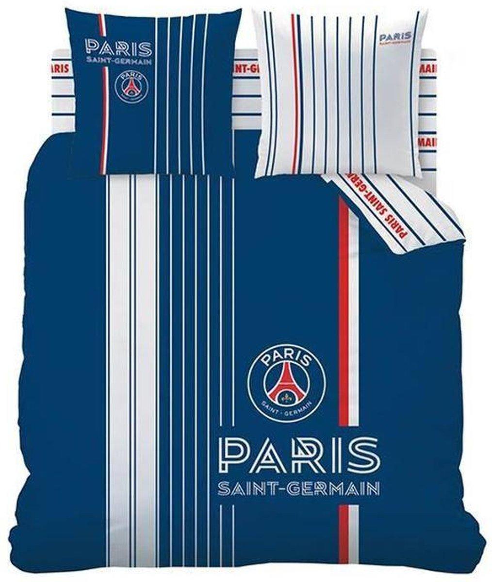 Paris Saint Germain Winner - Dekbedovertrek - Lits Jumeaux - 240 x 220 cm - Blauw