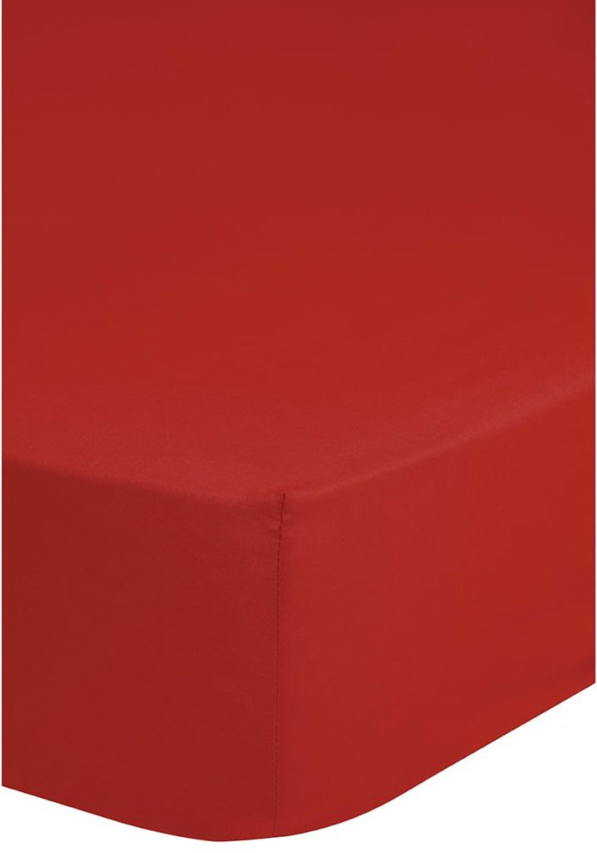Jersey Hoeslaken Emotion Rood-90 x 220 cm