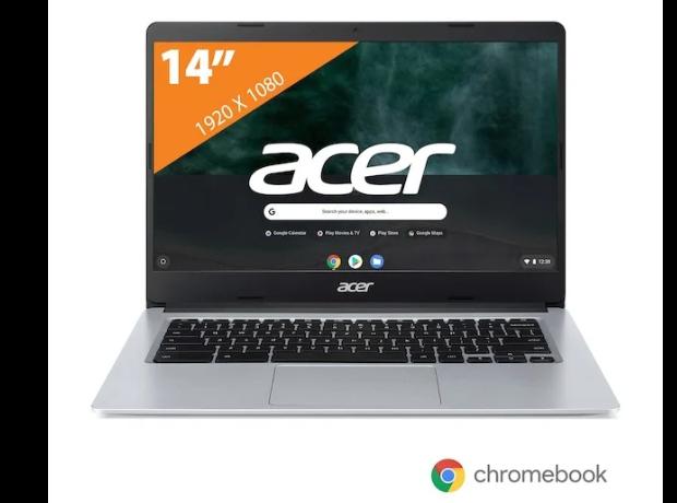 Acer Chromebook 314 CB314-1H-C21H Zilver