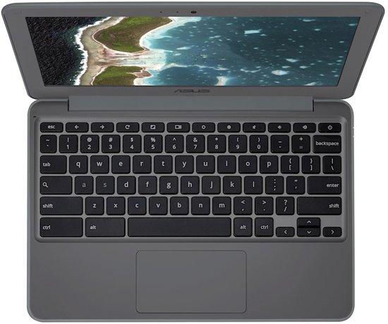 ASUS Chromebook C202SA-GJ0061 Grijs 29,5 cm (11.6'') 1366 x 768 Pixels 1,6 GHz Intel? Celeron? N3060